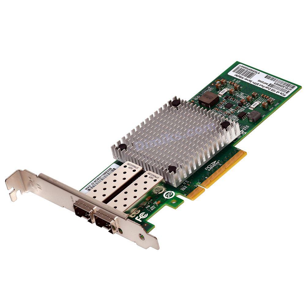 Universal 10G / 1G Server Network Card, 2x SFP+ two SFP+
