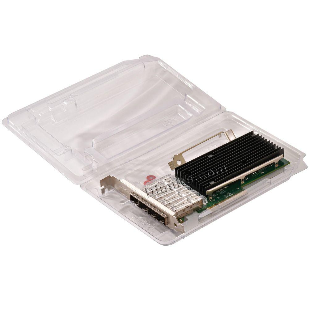 Universal 10G / 1G Server Network Card, 4x SFP+ four SFP+